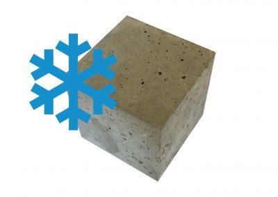 Frostangriff mit und ohne Taumittel = XF