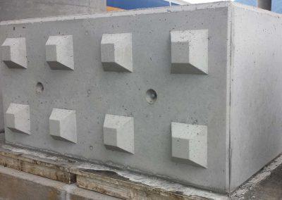 Mattoni lego in calcestruzzo mobili